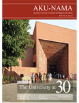 AKU-NAMA : Winter 2013, Volume 6, Issue 2 by Aga Khan University Alumni Association