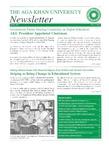 AKU Newsletter : June 2002, Volume 3, Issue 1
