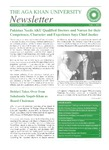 AKU Newsletter : November 2001, Volume 1, Issue 7