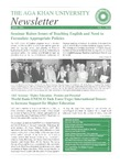 AKU Newsletter : April 2001, Volume 1, Issue 5