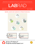 LABRAD : Vol 41, Issue 1 - March 2015 by Aga Khan University Hospital, Karachi