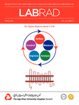 LABRAD : Vol 40, Issue 1 - April 2014 by Aga Khan University Hospital, Karachi