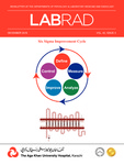 LABRAD : Vol 42, Issue 3 - December 2016 by Aga Khan University Hospital, Karachi