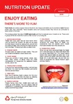 August 2016 (Issue 2) : Enjoy Eating There's More to Yum