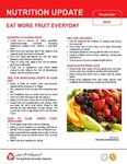 November 2016 (Issue 1) : Eat More Fruit Everyday