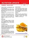 December 2016 (Issue 1) : Turmeric – Magic Spice