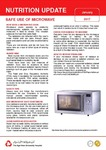 January 2017 (Issue 2) : Safe Use of Microwave