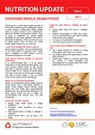 March 2017 (Issue 1) : Choosing Whole Grain Foods
