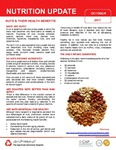 October 2017 (Issue 1) : Nuts & Their Health Benefits by Aga Khan University Hospital, Karachi