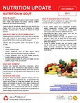 December 2017 (Issue 1) : Nutrition in Gout by Aga Khan University Hospital, Karachi