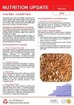 February 2018 (Issue 1) : Flax Seed - A Super Food
