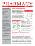 Pharmacy Newsletter : May 2013 by Pharmacy Department