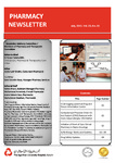 Pharmacy Newsletter : July 2011 by Pharmacy Department