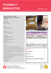 Pharmacy Newsletter : April 2009 by Pharmacy Department