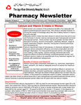 Pharmacy Newsletter : April 2007 by Pharmacy Department