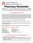 Pharmacy Newsletter : March 2006