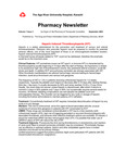 Pharmacy Newsletter : September 2003