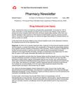 Pharmacy Newsletter : June 2003