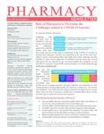 Pharmacy Newsletter : June 2021