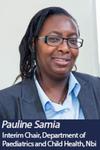 Dr Pauline Samia by Pauline Samia