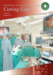Cutting Edge : Issue 1, 2012 by Department of Surgery