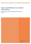 Islamic and Middle East Area Studies Librarianship